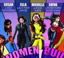 Women Build Poster i