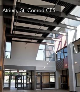atrium at conrad